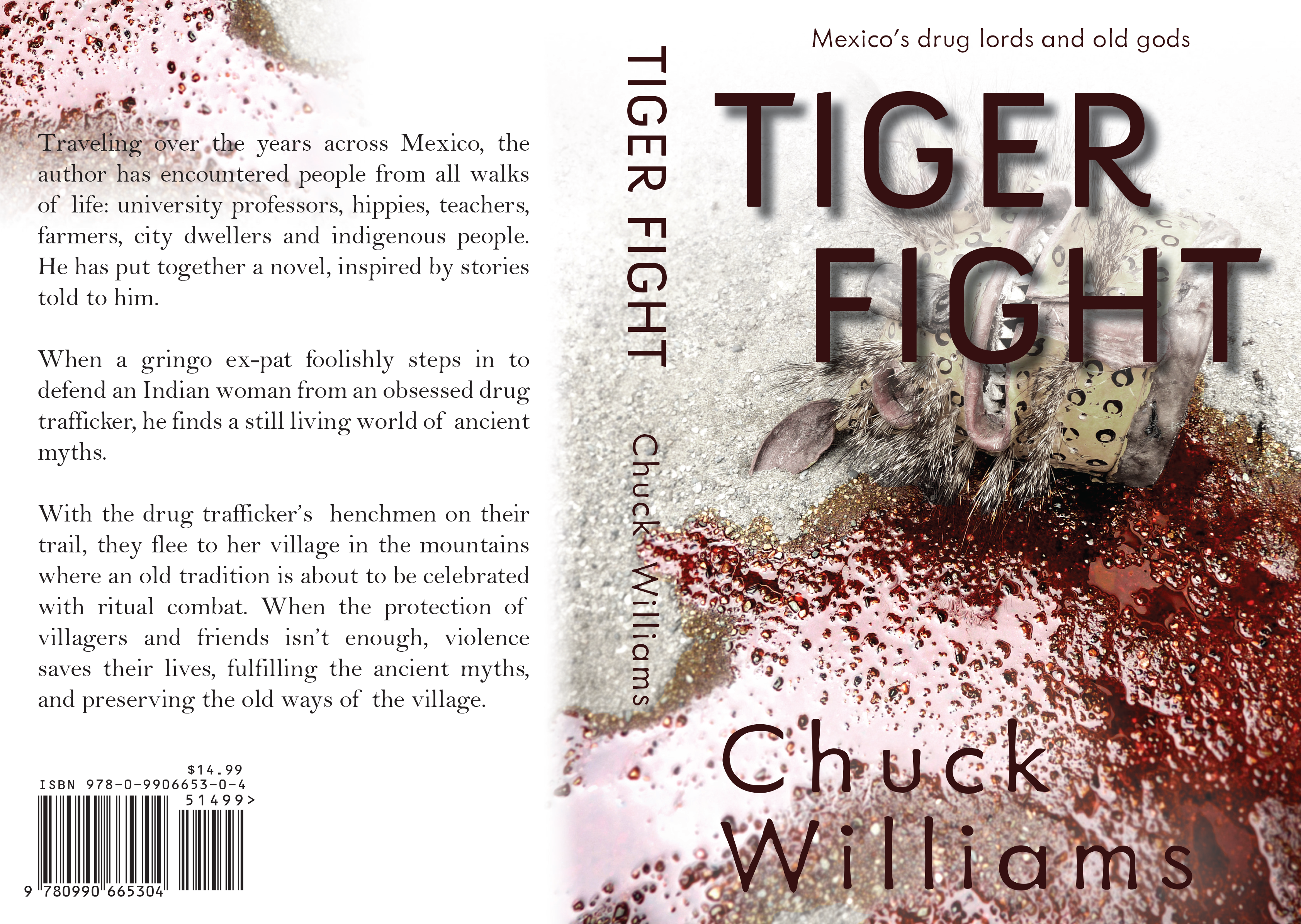 Tiger Fight by Chuck Williams