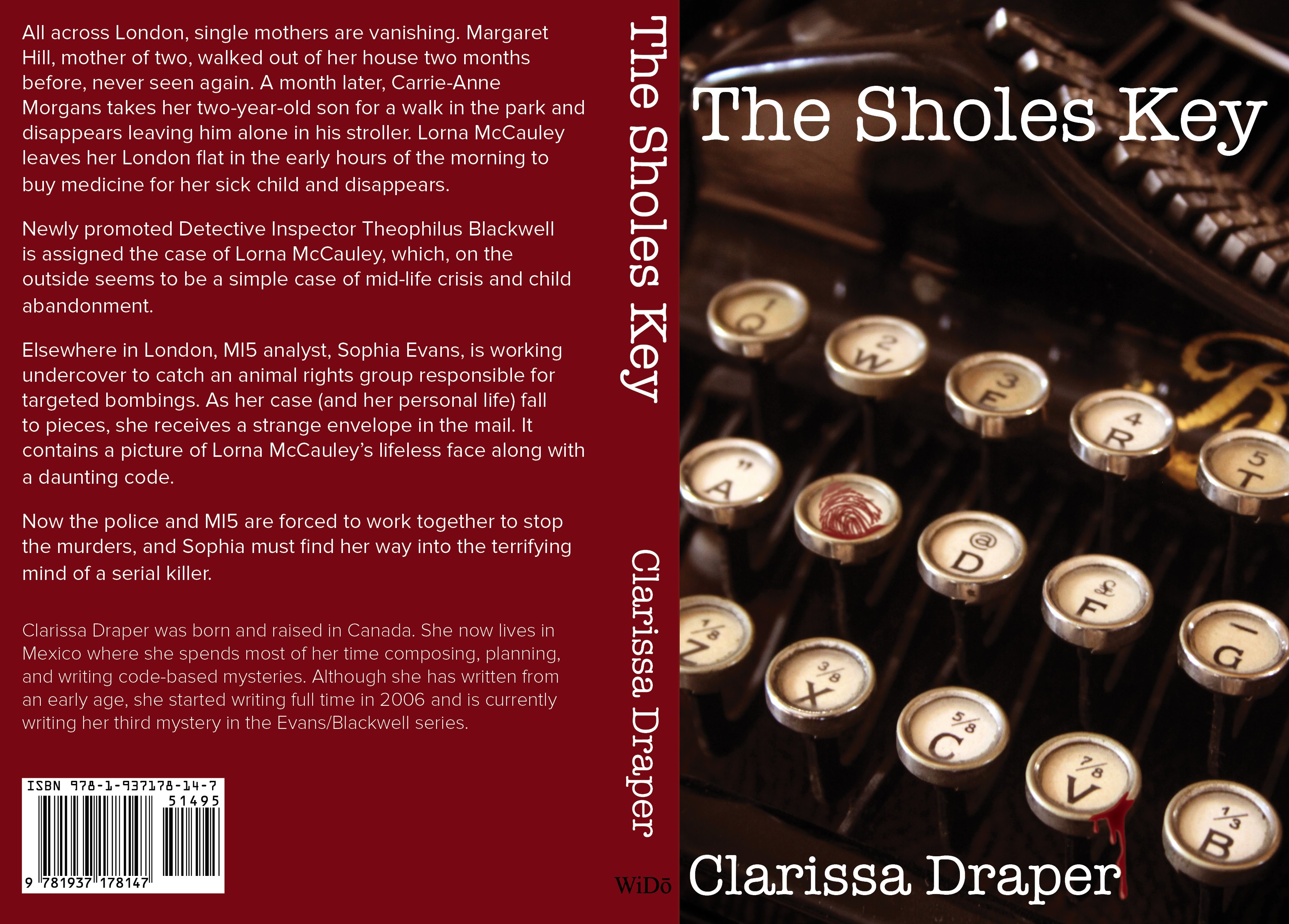 The Sholes Key by Clarissa Draper
