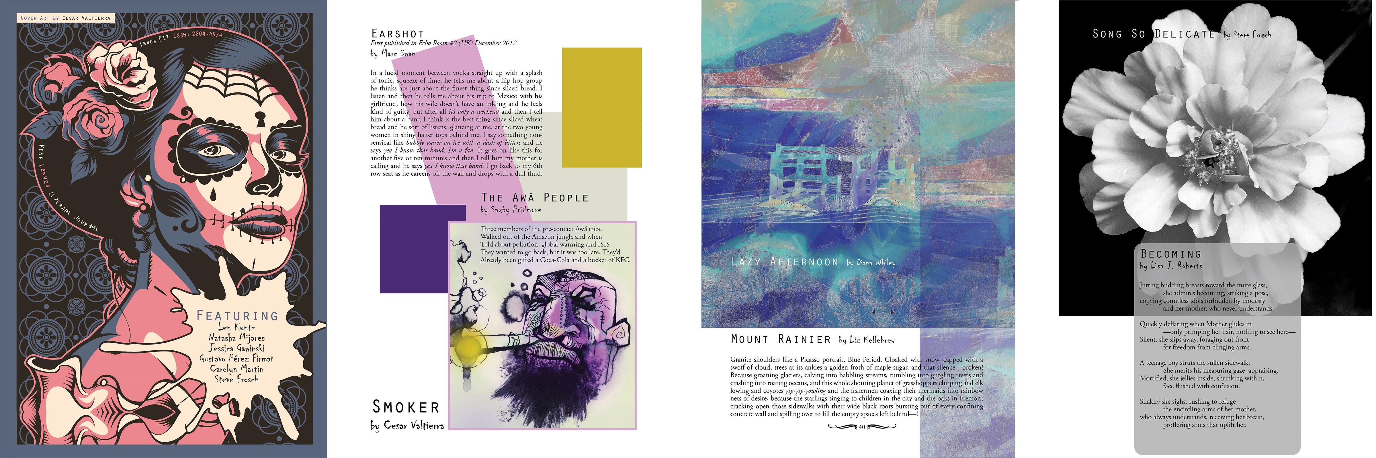 Vine Leaves Journal Issue 17